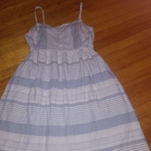 Old Navy stripe Summer dress sz XL